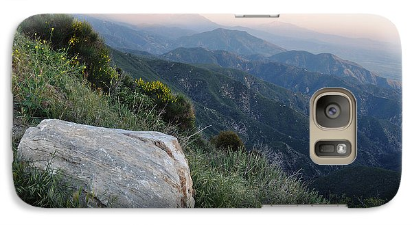 Galaxy Case featuring the photograph Rim O' The World National Scenic Byway by Kyle Hanson
