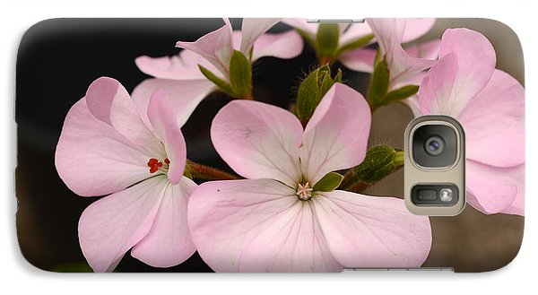 Galaxy Case featuring the photograph Ring Around The Rosy by Wanda Brandon