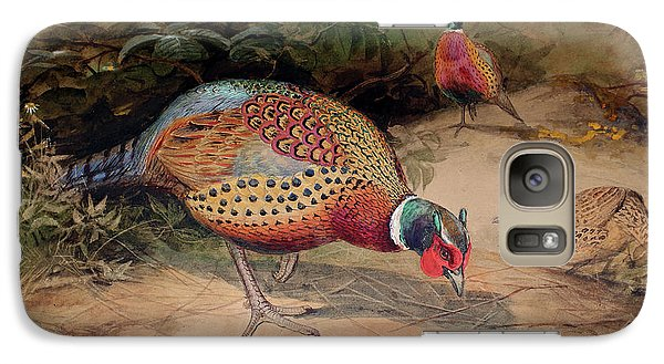Ring Necked Pheasant Galaxy S7 Case by Joseph Wolf
