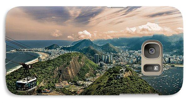 Rio De Janeiro Overlook Galaxy S7 Case