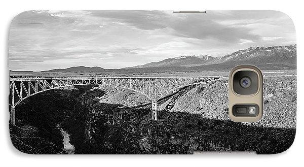 Galaxy Case featuring the photograph Rio Grande Gorge Birdge by Marilyn Hunt