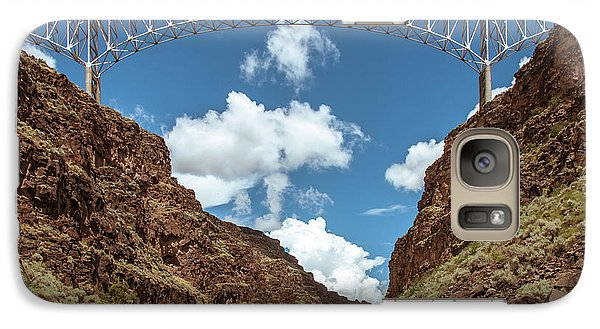 Galaxy Case featuring the photograph Rio Grande Gorge Bridge by Britt Runyon