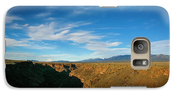 Galaxy Case featuring the photograph Rio Grande Gorge Nm by Marilyn Hunt