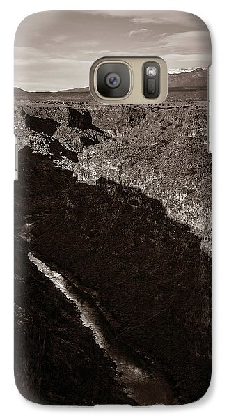 Galaxy Case featuring the photograph Rio Grande River Taos by Marilyn Hunt