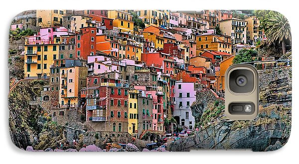 Galaxy Case featuring the photograph Riomaggiore by Allen Beatty