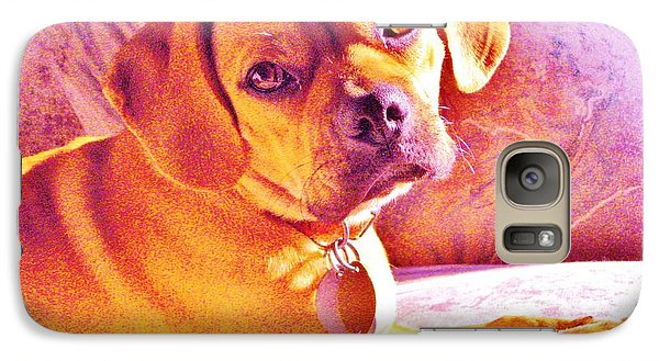 Galaxy Case featuring the photograph Ripple by Susan Carella