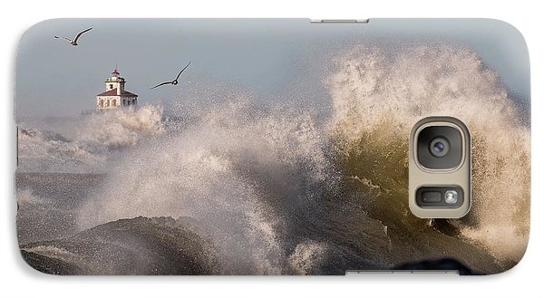 Galaxy Case featuring the photograph Rise Above The Turbulence by Everet Regal
