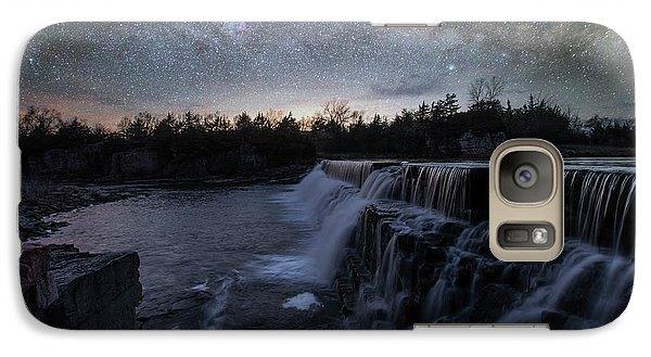 Galaxy Case featuring the photograph Rise And Fall by Aaron J Groen