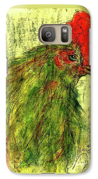 Galaxy Case featuring the drawing Rise And Shine  by P J Lewis