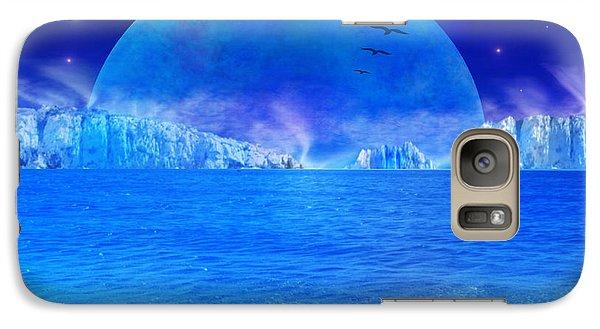 Galaxy Case featuring the digital art Rise by Bernd Hau