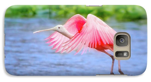 Rise Of The Spoonbill Galaxy S7 Case
