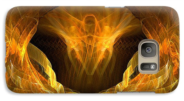 Galaxy Case featuring the digital art Risen by R Thomas Brass