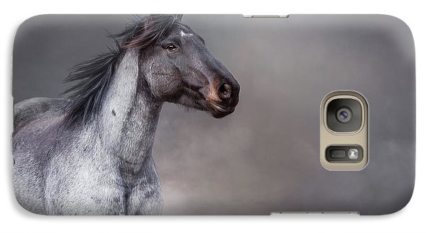 Galaxy Case featuring the photograph Rising From The Mist by Debby Herold