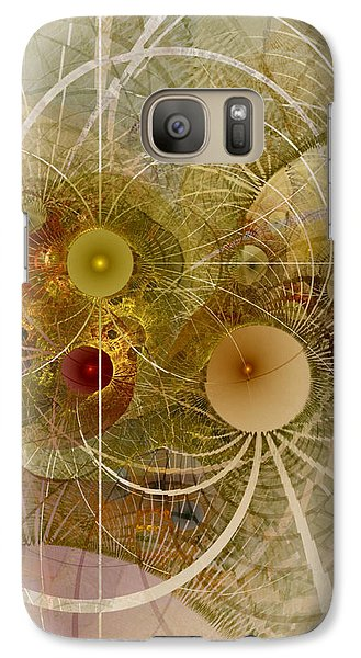 Galaxy Case featuring the digital art Rising Spring - Fractal Art by NirvanaBlues