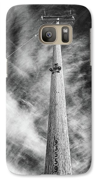 Galaxy Case featuring the photograph Rising To The Heights by Greg Nyquist