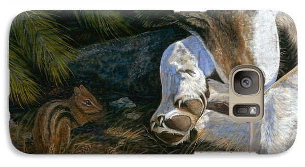 Galaxy Case featuring the painting Risky Business by Sheri Gordon