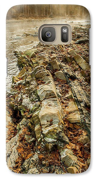 Galaxy Case featuring the photograph River Bank by Iris Greenwell