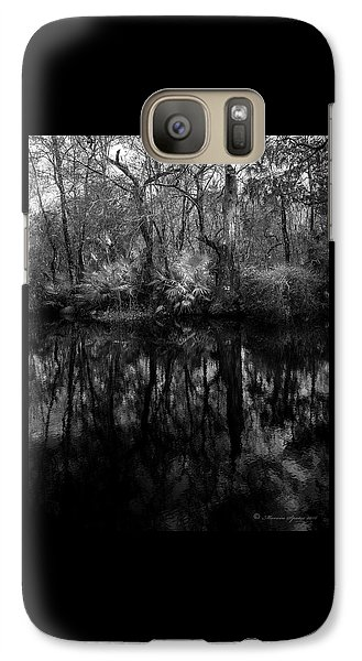 River Bank Palmetto Galaxy S7 Case by Marvin Spates