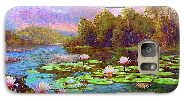 Lily Galaxy S7 Case - The Wonder Of Water Lilies by Jane Small