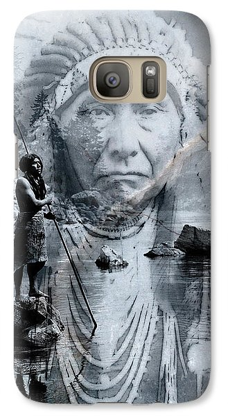 Galaxy Case featuring the digital art River Of Sorrow by Kathleen Holley