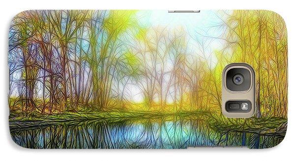 River Peace Flow Galaxy S7 Case