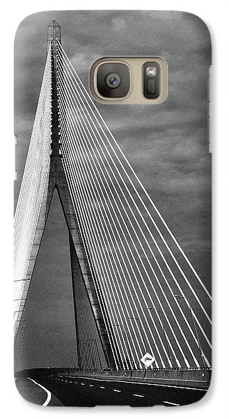 Galaxy Case featuring the photograph River Suir Bridge. by Terence Davis