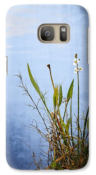 Galaxy Case featuring the photograph Riverbank Beauty by Carolyn Marshall