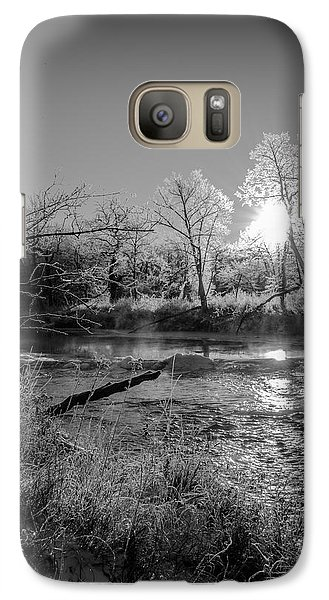 Galaxy Case featuring the photograph Rivers Edge by Annette Berglund
