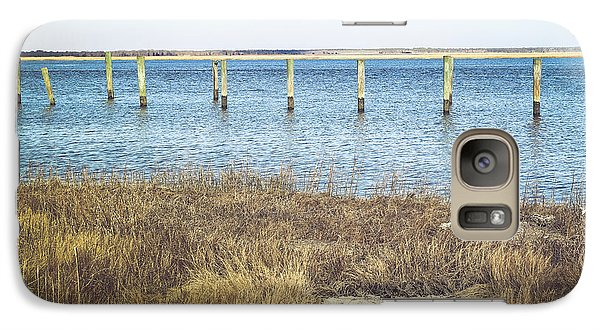 Galaxy Case featuring the photograph River's Edge by Colleen Kammerer