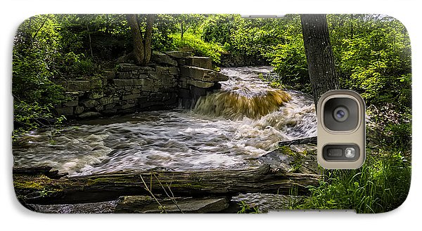 Galaxy S7 Case featuring the photograph Riverside by Mark Myhaver