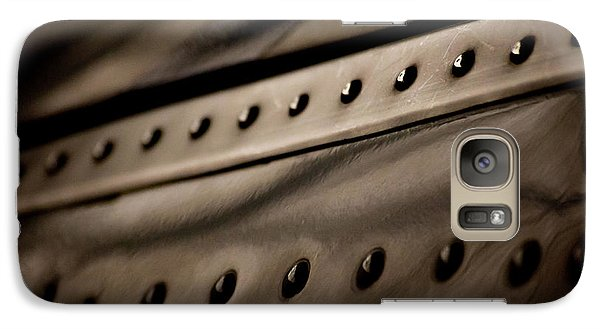 Galaxy Case featuring the photograph Rivets by Paul Job
