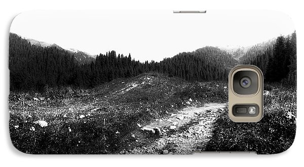 Galaxy Case featuring the photograph Road by Hayato Matsumoto