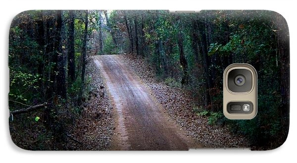 Galaxy Case featuring the photograph Road Not Taken by Betty Northcutt