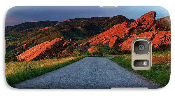 Galaxy Case featuring the photograph Road To Light by John De Bord
