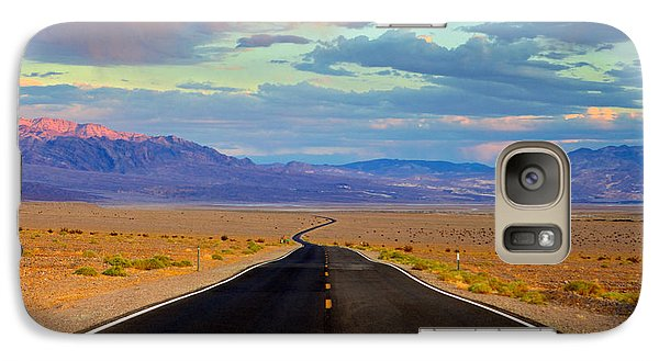 Galaxy Case featuring the photograph Road To The Dreams by Evgeny Vasenev
