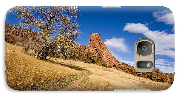 Galaxy Case featuring the photograph Road To The Rocky Blue by Andrew Serff