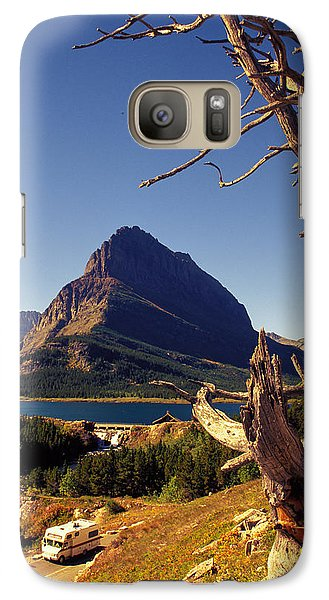 Galaxy Case featuring the photograph Road To The Sun by Carl Purcell