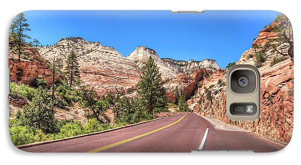 Galaxy Case featuring the photograph Road To Zion by Brent Durken