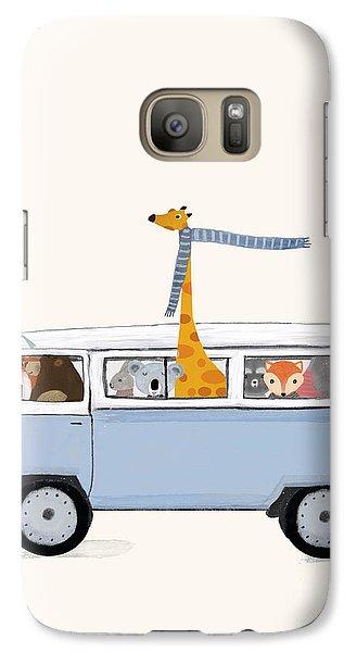 Koala Galaxy S7 Case - Road Trip by Bleu Bri