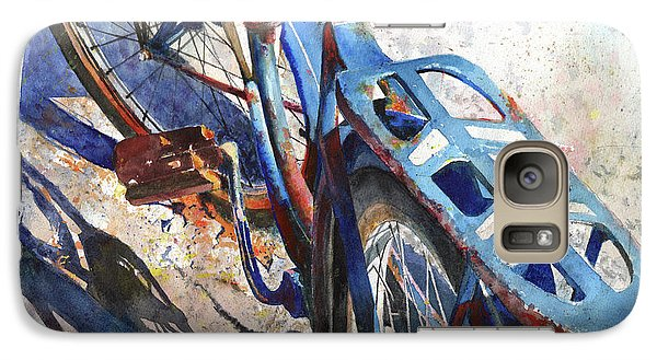 Bicycle Galaxy S7 Case - Roadmaster by Andrew King