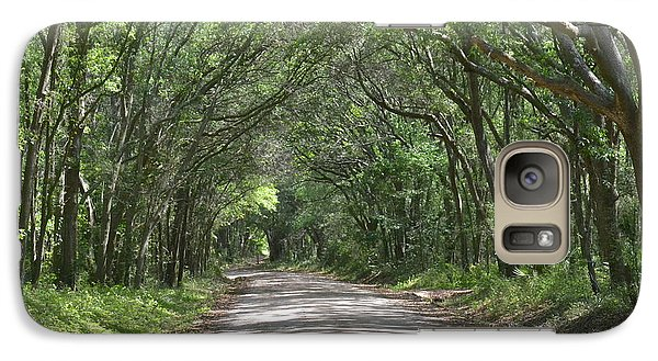 Galaxy Case featuring the photograph Roadway To Mitchellville Beach by Carol  Bradley