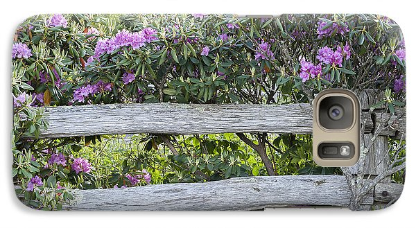 Galaxy Case featuring the photograph Roan Mountain Azaleas by Tyson and Kathy Smith