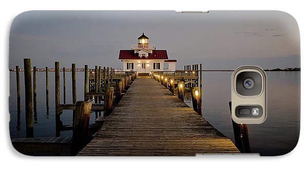 Galaxy Case featuring the photograph Roanoke Marshes Lighthouse by David Sutton