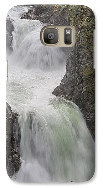 Galaxy Case featuring the photograph Roaring River by Randy Hall