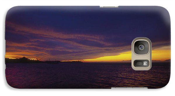 Galaxy Case featuring the photograph Roatan Sunset by Stephen Anderson