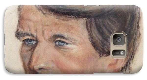 Galaxy Case featuring the painting Robert Kennedy by Anthony Ross