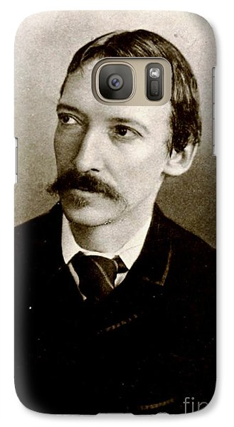 Galaxy Case featuring the photograph Robert Louis Stevenson by Pg Reproductions