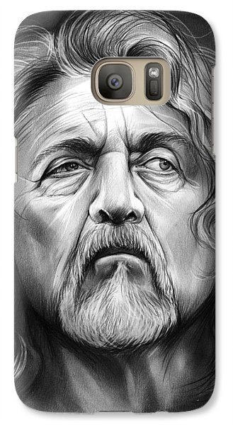 Robert Plant Galaxy S7 Case by Greg Joens