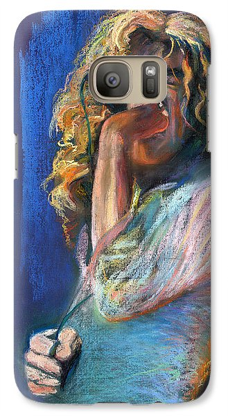 Musicians Galaxy S7 Case - Robert Plant by Laurie VanBalen