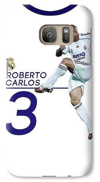 Roberto Carlos Galaxy S7 Case